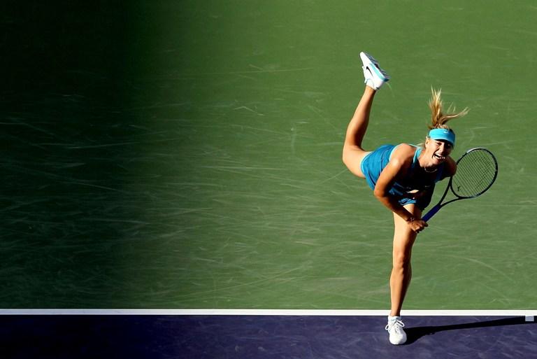 Marija Šarapova Indian Velse vykstančio turnyro nugalėtoja tapo 2006 metais. AFP/Scanpix nuotr.