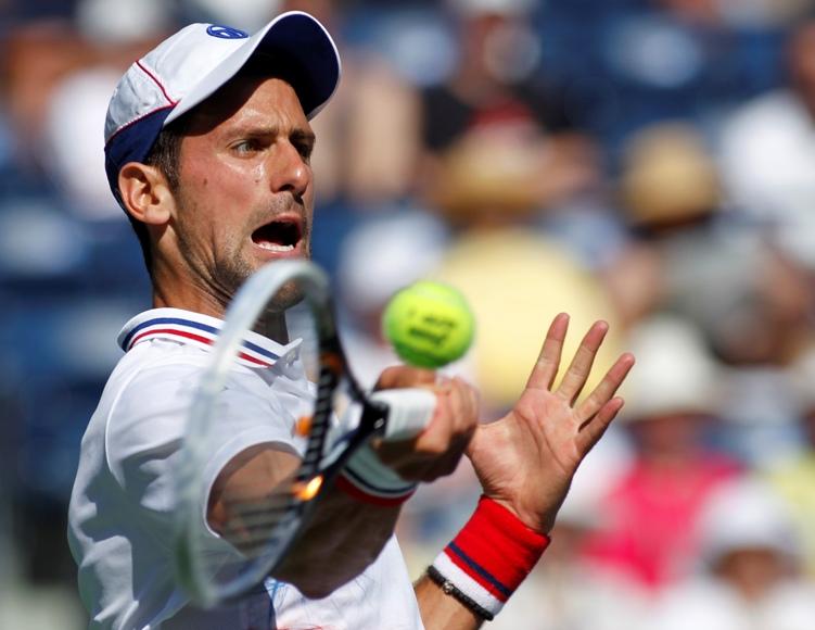 """Novakas Džokovičius siekia trečio """"BNP Paribas Open"""" nugalėtojo titulo. REUTERS/Scanpix nuotr."""